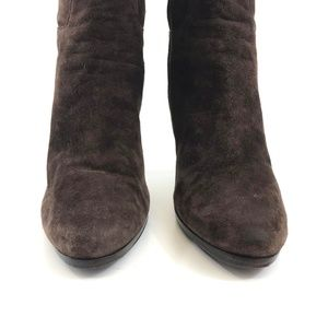 Cole Haan Shoes - Cole Haan Nicole Nike Air Brown Suede Tall Boot 10